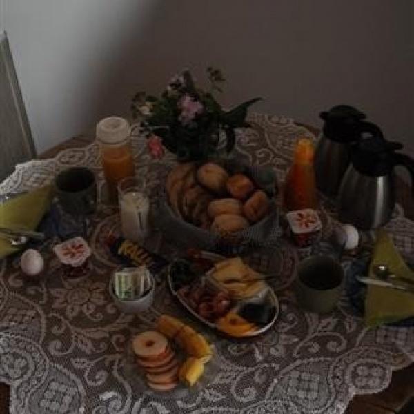 Framdukad frukost